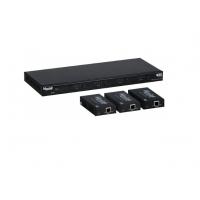 Матричный коммутатор HDMI 4X4 MATRIX SWITCH KIT, HDBT, POC, 4K/60 Muxlab 500412-EU
